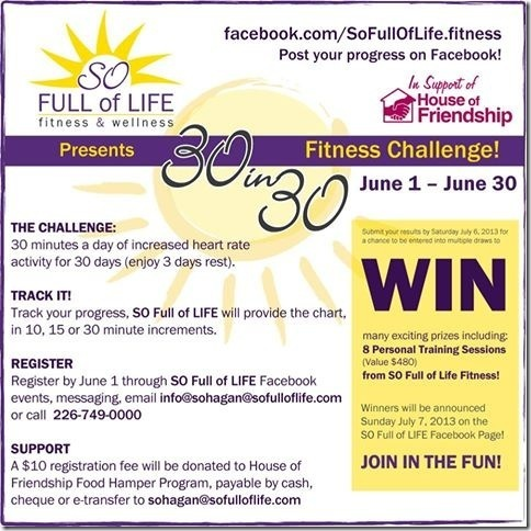 2013-05 30 in 30 Fitness Challenge